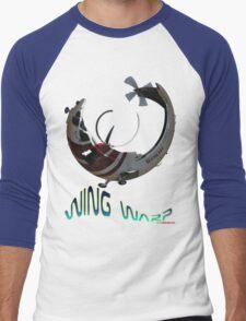 RAAF Sikorsky S76 Helicopter VH-LHN T-shirt Design Men's Baseball ¾ T-Shirt