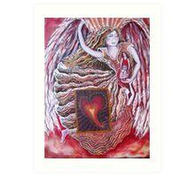 Angel Light Art Print
