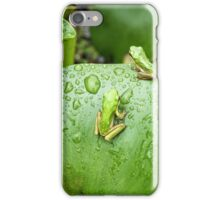 Green Tree Frog #2 iPhone Case/Skin