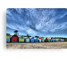 Little Boxes Canvas Print