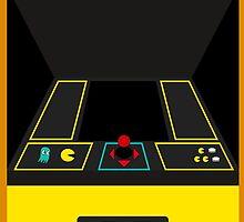 Pac-Man Arcade Cabinet by Gevork Sherbetchyan