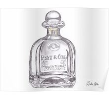 Patron Tequila Bottle Poster