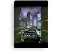 Shades of Bladerunner: Shinjuku, Tokyo Canvas Print