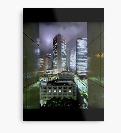 Shades of Bladerunner: Shinjuku, Tokyo Metal Print