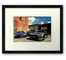 Skylines... Framed Print
