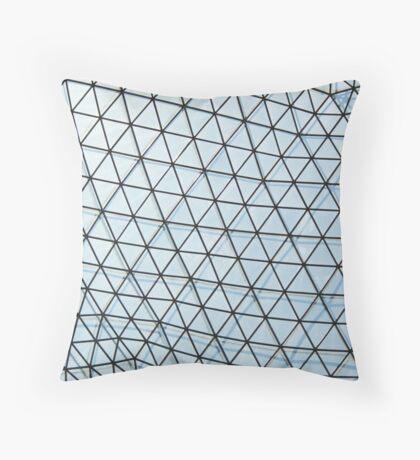 glass roof Throw Pillow