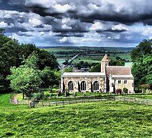rockingham castle church by cynthiab
