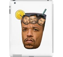 Just Some Ice Tea and Ice Cubes iPad Case/Skin