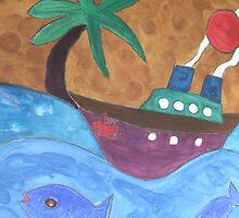Steam Ship Ahoy! by DeborahDinah