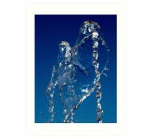 Water with a Twist Art Print