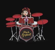 Drummer Chick by blucy