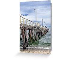 Henley Jetty Greeting Card