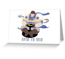 Spin to Win - Garen Greeting Card
