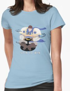 Spin to Win - Garen Womens Fitted T-Shirt