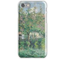 Camille Pissarro - Peasant House at Eragny iPhone Case/Skin