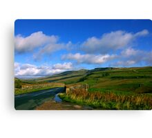 The Road to the Dales Canvas Print