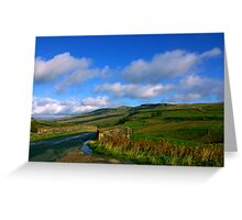 The Road to the Dales Greeting Card