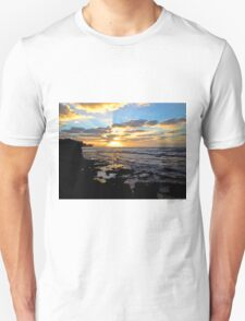 On Sunset Beach Unisex T-Shirt