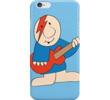 Ziggy Plays Guitar iPhone Case/Skin