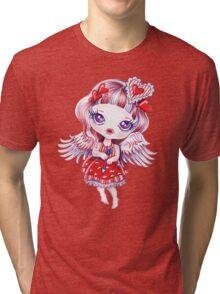 Valentine Girl Tri-blend T-Shirt