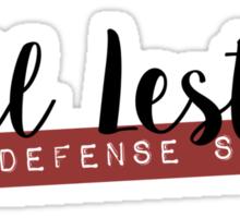 Phil Lester Defense Squad Sticker