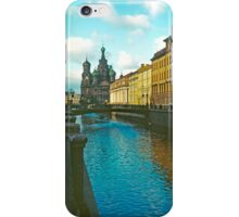 Cathedral of the Holy Blood, St Petersburg, Russia iPhone Case/Skin