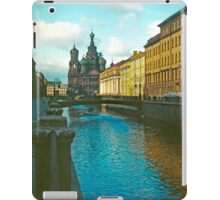 Cathedral of the Holy Blood, St Petersburg, Russia iPad Case/Skin