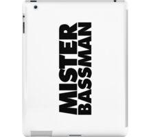 Mister Bassman iPad Case/Skin