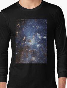 Blue Galaxy Long Sleeve T-Shirt
