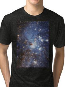 Blue Galaxy Tri-blend T-Shirt