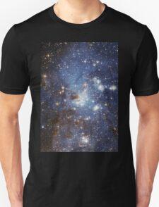 Blue Galaxy Unisex T-Shirt