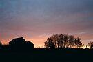 Autumn Sunrise by Allen Lucas
