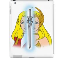 She-Ra Princess of Power - Adora/She-Ra/Sword - Color iPad Case/Skin