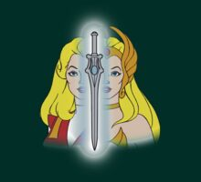 She-Ra Princess of Power - Adora/She-Ra/Sword - Color T-Shirt