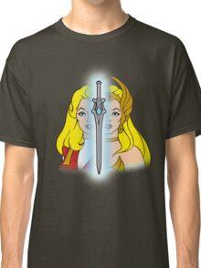 She-Ra Princess of Power - Adora/She-Ra/Sword - Color Classic T-Shirt
