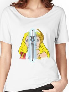 She-Ra Princess of Power - Adora/She-Ra/Sword - Color Women's Relaxed Fit T-Shirt