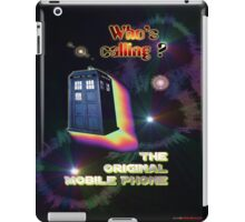 Who's Calling? The Original Mobile Phone Design iPad Case/Skin
