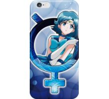Sailor Mercury - Crystal Planet edit. iPhone Case/Skin
