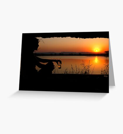 The ultimate sundowner Greeting Card