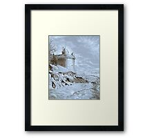Underpainting Mont. St. Michel Framed Print