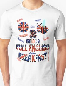 Happy 2 bee eating a full english Breakfast T-Shirt