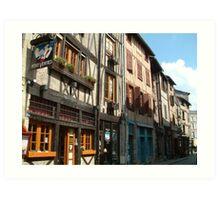 Limoges Old Town Art Print