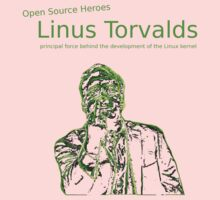 Linux Open Source Heroes - Linus Torvalds Kids Clothes