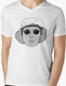 Leandoer (Plain) Mens V-Neck T-Shirt