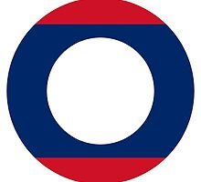 Roundel of Laos Air Force  by abbeyz71