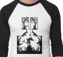 Star Crossed Inferno Men's Baseball ¾ T-Shirt