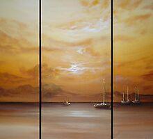 Golden Sunset by Cherie Roe Dirksen