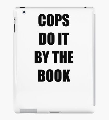 Halloween 4 - Cops do it by the book iPad Case/Skin