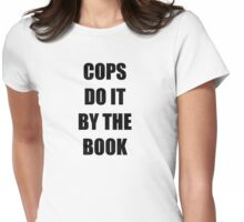 Halloween 4 - Cops do it by the book Womens Fitted T-Shirt