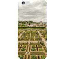 Gardens at Chateau de Villandry, France #3 iPhone Case/Skin